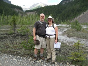 Berg Lake Trail day hike to Kinney Lake